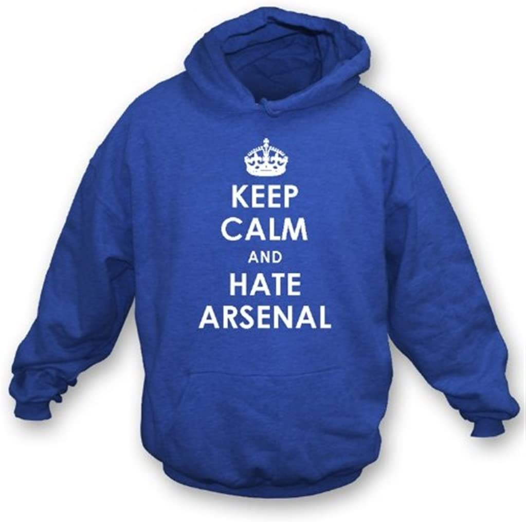 Keep Calm And Hate Sweatshirt 35% OFF Sales results No. 1 Hooded Arsenal Chelsea