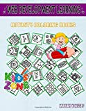 Web Development Learning: Activity And Coloring Book 35 Fun File, Mobile, Warning, Homepage,...