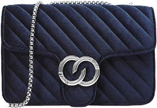 Rare Fig Damen Umhängetasche Kettenriemen Umhängetasche Für Reisen Arbeit Dating oder Täglicher Gebrauch (Blau)