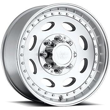 "Vision Heavy Hauler 81 Series Machined Clear Coat Wheel (19.5x7.5""/8x6.5"")"