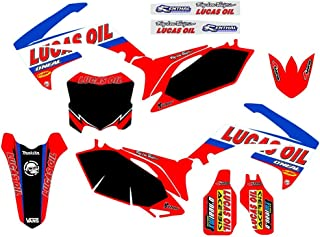 3M Decals Emblems Stickers Graphics For Honda CRF250 CRF250R 2010 2011 2012 2013 CRF450 CRF450R 2009-2012 pit dirt Bike