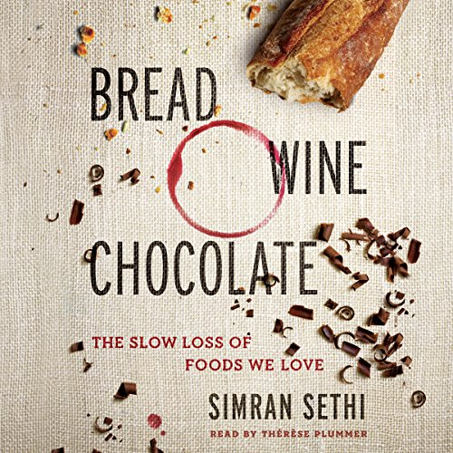 Bread, Wine, Chocolate audiobook cover art