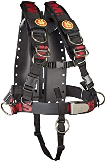 OMS Aluminum Backplate w/Comfort Harness System II