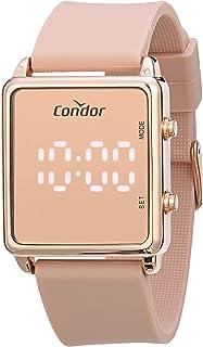 Relógio, Digital, Condor, COMD1202AH/5J, feminino, Rosa