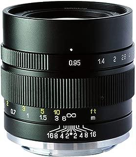 Zhongyi Mitakon Speedmaster 35mm f/0.95 Mark 2 Lens for Sony E Mount 6500 6300 Black
