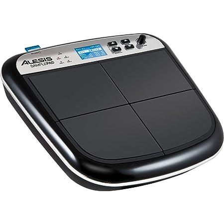 Alesis Sample Pad - MultiPad de Batteries Electronique 4 Zones Sensibles avec 25 Sons de Percussion, Lecteur de Carte SD, Effets et Sortie MIDI