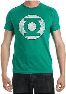 Green Lantern Logo Men's Green T-Shirt Tee Shirt