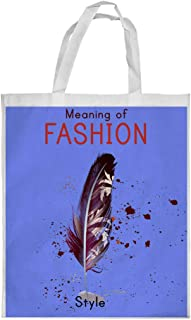Meaning of Fashion Printed Shopping bag, Large Size