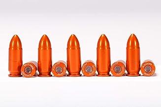 A-ZOOM 9MM Luger SNAP Cap, Orange, 10PK