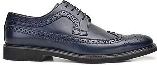 3436-148 EXL -Antik Lacivert 204 Nevzat Onay Lacivert Günlük Deri Erkek Ayakkabı
