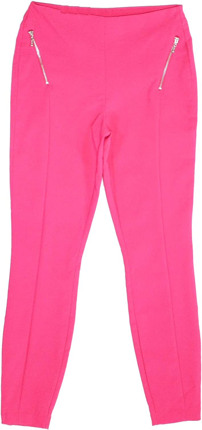 INC Womens Pink Skinny Wear to Work Pants Size 4