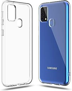 Shamo's Compatible with Samsung Galaxy M31 / F41 Case (2020), 6.4-Inch, Shock Absorption TPU Rubber Transparent Anti-Scrat...