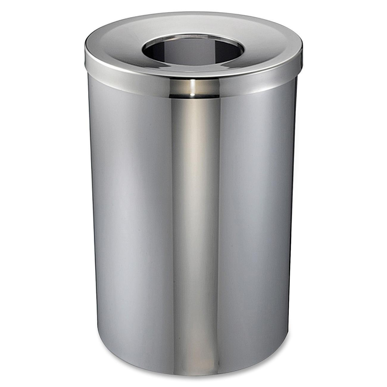 Genuine Joe - security GJO58895 Gifts 30 Gal Receptacle Trash Steel Stainless
