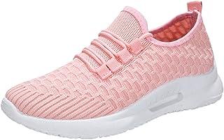 Fannyfuny Unisex-Erwachsene Turnschuhe Paar Sneaker Sportschuhe Atmungsaktiv Leichte Mesh Wanderschuhe Outdoor Gym/Fitness...