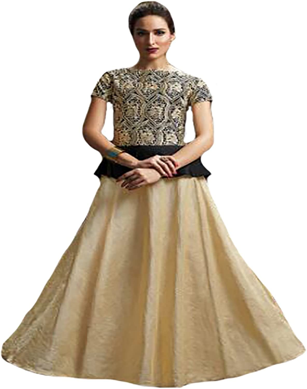 Bollywood Collection Gown Anarkali Salwar Kameez suit Ceremony Muslim Women 8755