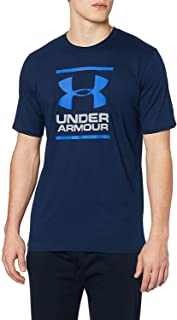 Under Armour UA QUALIFIER SHORTSLEEVE, Ultra-Light Fitness Shirt for Men, Breathable and Comfortable Men's Gym Tee Men