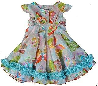 Dew Drops Couture 6161 Rainbow Butterflies Dress~Last Size: 2T