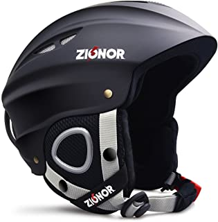 Zionor Lagopus H1 Ski Snowboard Helmet for Men Women - Air Flow Control Adjustable Fit
