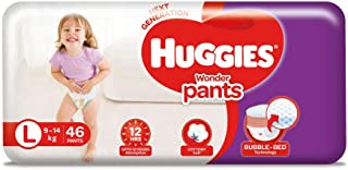Huggies Wonder Pants, Large Size Diapers, 46 Count