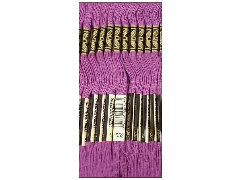 Bulk Buy: DMC Thread Six Strand Embroidery Cotton 8.7 Yards Medium Violet 117-552 (12-Pack)