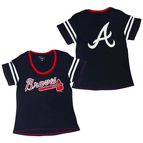official photos 61418 7e353 Women's Atlanta Braves Shirt: Amazon.com