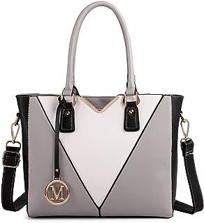 Miss Lulu V Shape Handbag for Women Purses and Handbags Leather Tote Shoulder Bag Top Handle Tote Bags