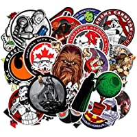 100 Tipos de Star War Impermeable Tapa de Combustible Etiqueta Creativa para patineta en el portátil Laptop Equipaje Teléfono Styling Home Toy Sticker