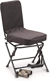 Guide Gear Swivel Hunting Chair, Black