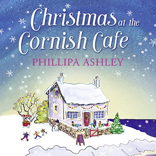 Christmas at the Cornish Café audiobook cover art
