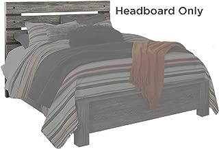Signature Design By Ashley - Cazenfeld Queen Panel Headboard - Black/Gray