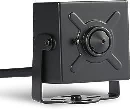 H.265 HD 3MP Mini IP Camera - Revotech - 1080P 2MP 1296P 3.7mm Lens Pinhole Indoor Metal Security Camera ONVIF P2P CCTV Cam System (I706-2 Black)