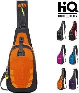 Sling Bag Chest Shoulder Unbalance Gym Fanny Backpack Sack Satchel for Cycling Hiking Camping Travel