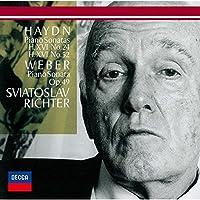 Haydn: Piano Sonatas Nos. 24 & 52. by Sviatoslav Richter (2015-03-18)