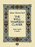 the well-tempered clavier: books i and ii, complete [lingua inglese]