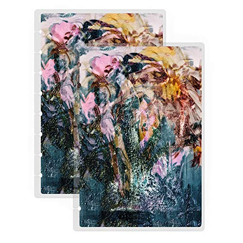 Jane's Agenda Discbound Replacement Planner Cover, Sweet Darkness Oil Painting Print