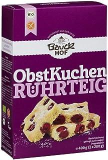 Bauckhof Bio Bauck Bio Obstkuchenteig, glutenfrei 2 x 400 gr