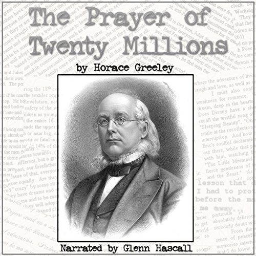The Prayer of Twenty Millions audiobook cover art