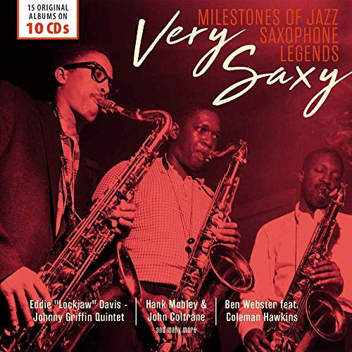 VERY SAXY: Saxophone Legends (Milestones of Jazz -10 CD Collections)