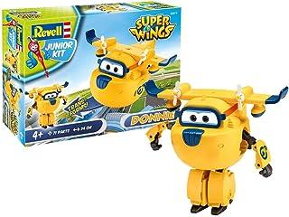 Revell 871 Donnie z Super Wings 4 zestaw do montażu z systemem śrubowym dla dzieci od 4 lat, do gier na śruby budowlane o ...