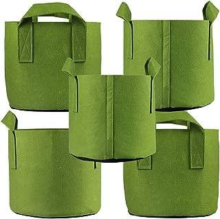 Ming Wei Grow Bags (5 Gallon, Army Green)