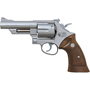 Crown model Hop-up gas revolver No.1 S/&W M29 4 inch Black model