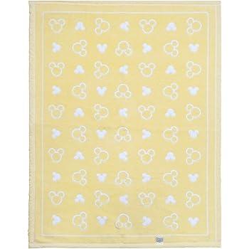 日本製 ベビー 綿毛布 Mickey 85×115cm 吸湿性・保温性に優れオールシーズン使用可能 un doudou No.NZ1336