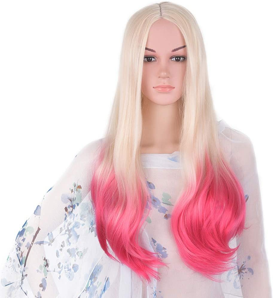 LXJ Under blast sales Wig 100% high Temperature Fashion Role-Playing Resistance Over item handling ☆