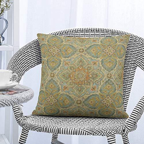 Dom576son Adobe - Funda de almohada con lentejuelas, funda de almohada con lentejuelas, cojín mágico reversible con lentejuelas, 40,6 x 40,6 cm, color plateado y blanco