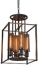 نجفة نانو سونغ من الحديد المطاوع إضاءة معدات الرياح في المطاعم والمقاهي