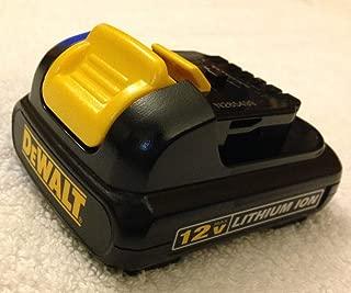 De-Walt DCB120 12V 12 Volt MAX Lithium-Ion Battery Pack, Black