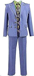 Anime Kira Yoshikage Jacket Uniform Outfit Cosplay Costume