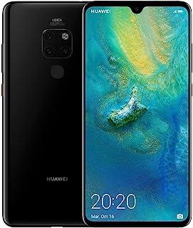 هاتف هاواوي مايت 20 بشريحتي اتصال - سعة 128 جيجابايت، الجيل الرابع ال تي اي، اسود