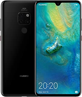 "Huawei Mate 20 Smartphone, 128 GB, 6GB RAM, 6.53"", Leica Triple AI Camera - Black"