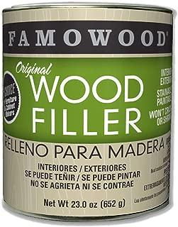 FamoWood 36021128 Original Wood Filler - Pint, Oak/Teak